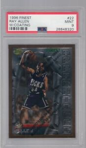 1996-FINEST-22-RAY-ALLEN-ROOKIE-PSA-9
