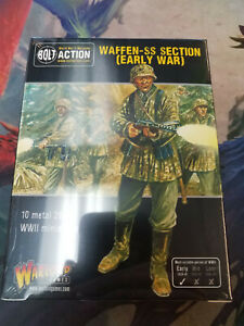 Early War Waffen-SS squad German Army Bolt Action WWII Warlord Games New!