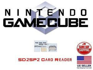 Nintendo GameCube SD2SP2 MICRO SD Card Adapter For NGC Game Cube Serial Port 2