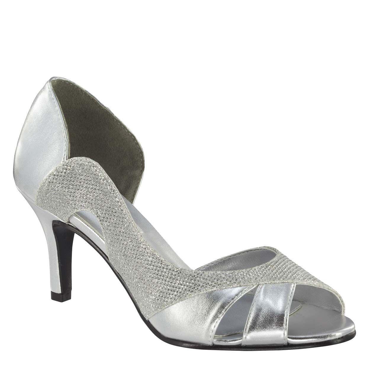 damen's Touch Ups Charlie Mid Heel Pump Silber Größe Größe Größe 6.5  NC9BS-M35 766c22