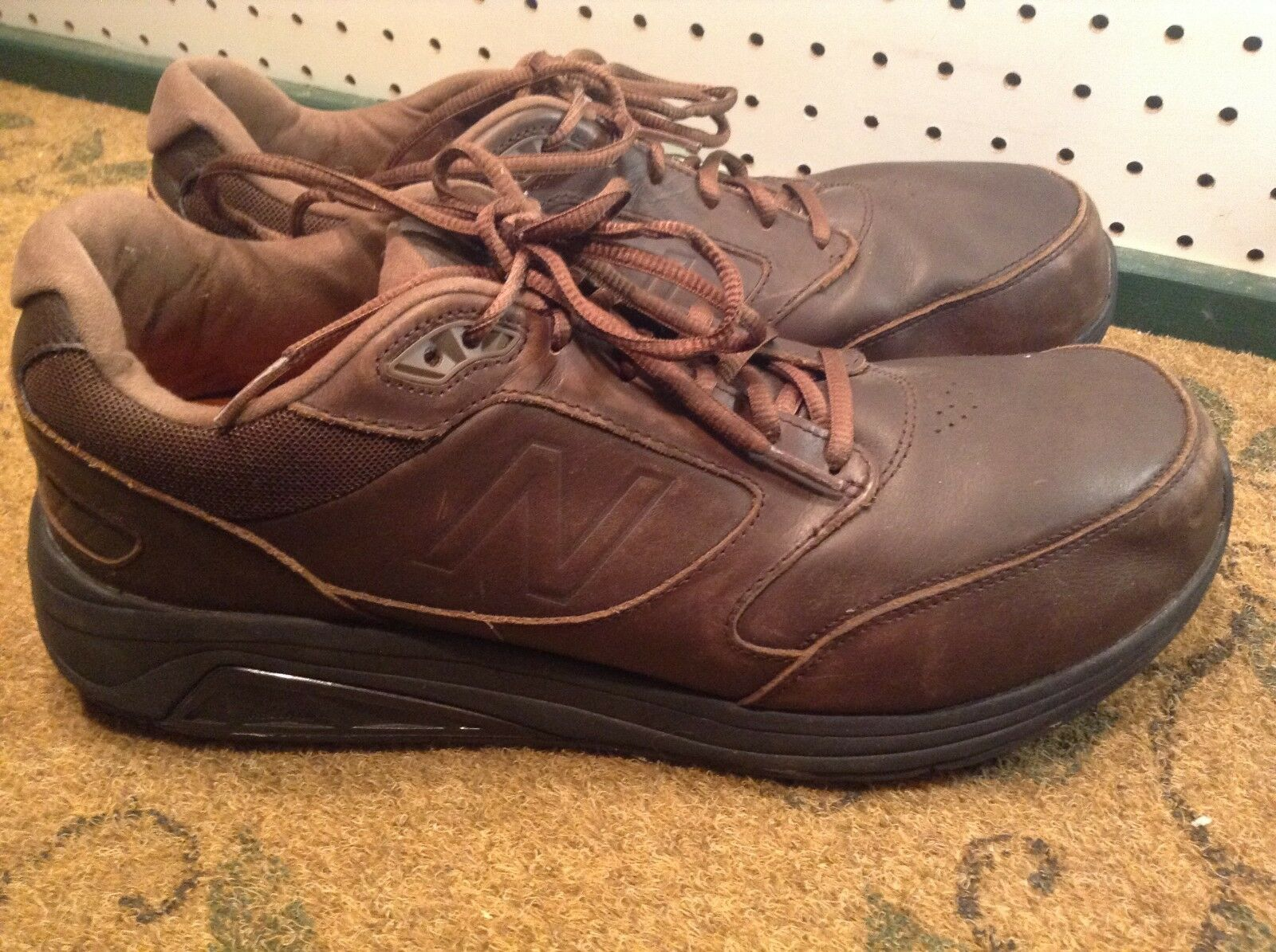 save off fcf64 6a456 NEW BALANCE 928 Homme Waterproof Marron Walking Work Chaussures US