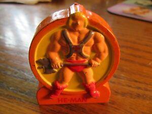 1984 He- Man Pencil Sharpener made in Hong Kong
