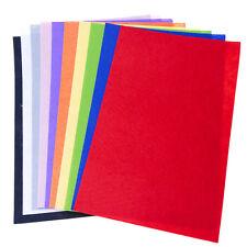 Felt Sheet Pack 10 Bright Colours A4 Crafts Arts