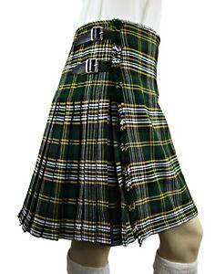 Scottish-Pride-Of-Ireland-Kilt-Men-039-s-5-Yard-Casual-Tartan-Highland-Dress-Kilt