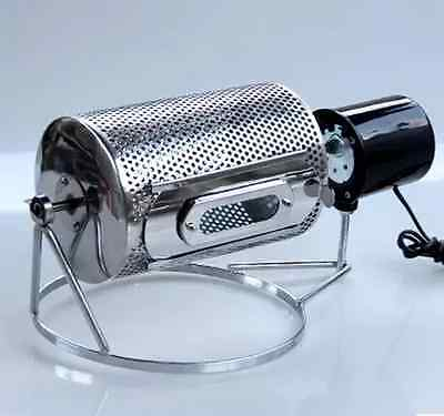 New Coffee Roaster Machine Home Kitchen Tool Electric Stainless Steel Machine