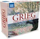 Grieg Complete Orchestral Works Bjarte ENGESET Naxos 8 508015