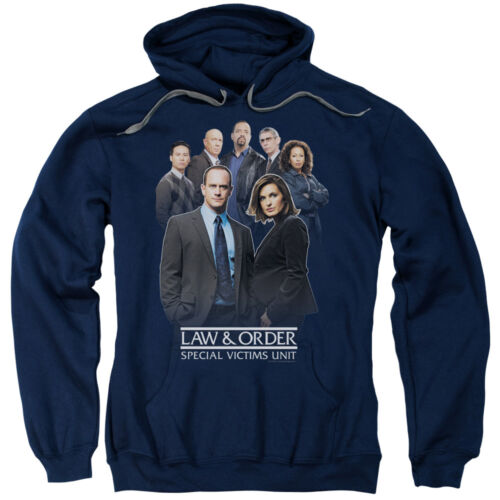 Law /& Order Svu Crime Legal Drama TV Series NBC Team Adult Pull-Over Hoodie