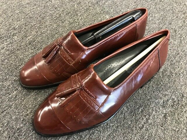 Stacy Adams Uomo Dress Shoe Loafers 23993-03 Tan Lavaca