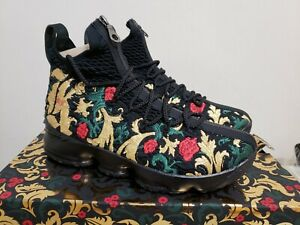 super popular 8cf03 249fa Details about Kith Lebron 15 Closing Ceremony - Black (BRAND NEW) Mens size  9