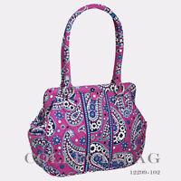 Authentic Vera Bradley Boysenberry Frame Bag 12299-102