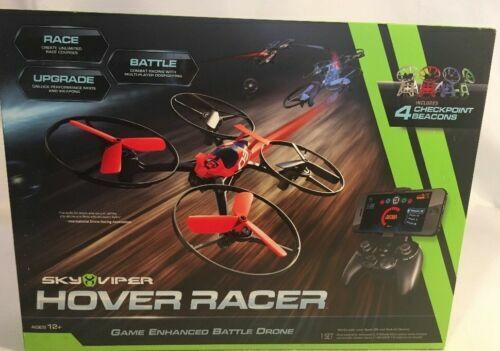 Sky Viper 01600 Hover Racer Game Enhanced Battle and Racing Drone Red for  sale online | eBay