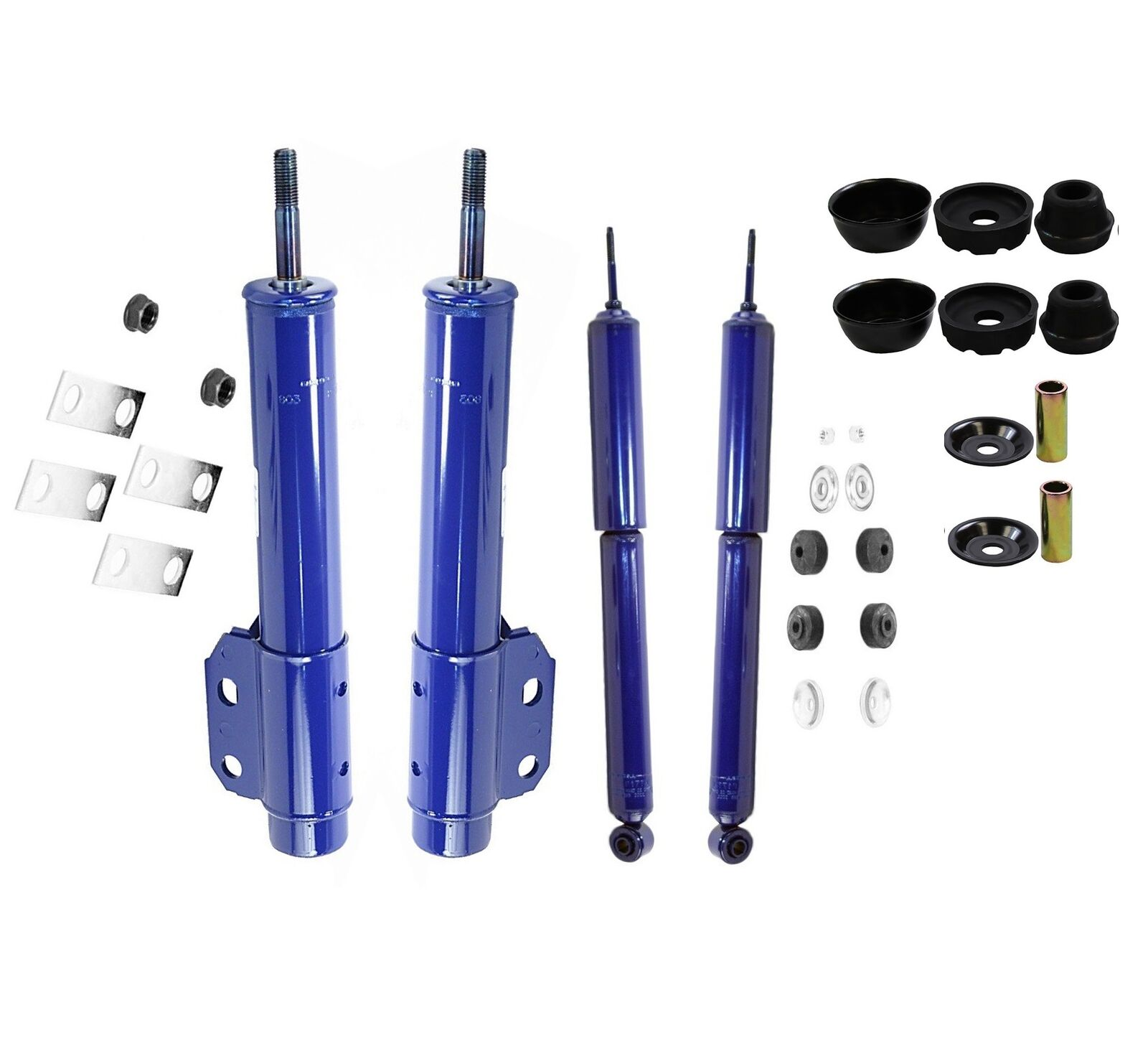 Monroe Front and Rear Monro-Matic Plus Strut and Shock Absorber Assembly Kit