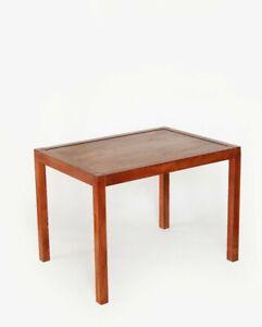 Vintage Mid Century Modern Vejle Stole Mobelfabrik style Teak Danish side Table