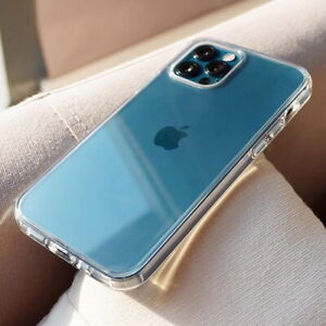 Crystal Clear Case for iPhone 13 12 11 Pro Max XR X XS 8 7 Protector HARD Cover