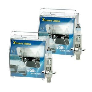 4 x H1 Xenon Optik Halogen Lampen 8500 K Super White Birnen 12V 55W Glühbirnen