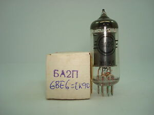 6a2p - 6be6 - Ek90 Tube. Nos / Nib. Rc15b.