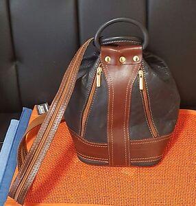 Da-Handtasche-Rucksack-Umhaengetasche-braun-schw