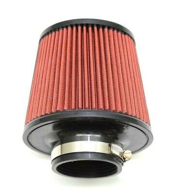 "1320 Performance 3.5/"" Universal air filter cone reusable black air filter /&clamp"