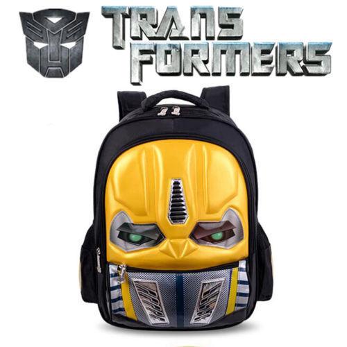 Transformers Backpack//Anime School Bag Rucksack kid boy girl Optimus Prime UK