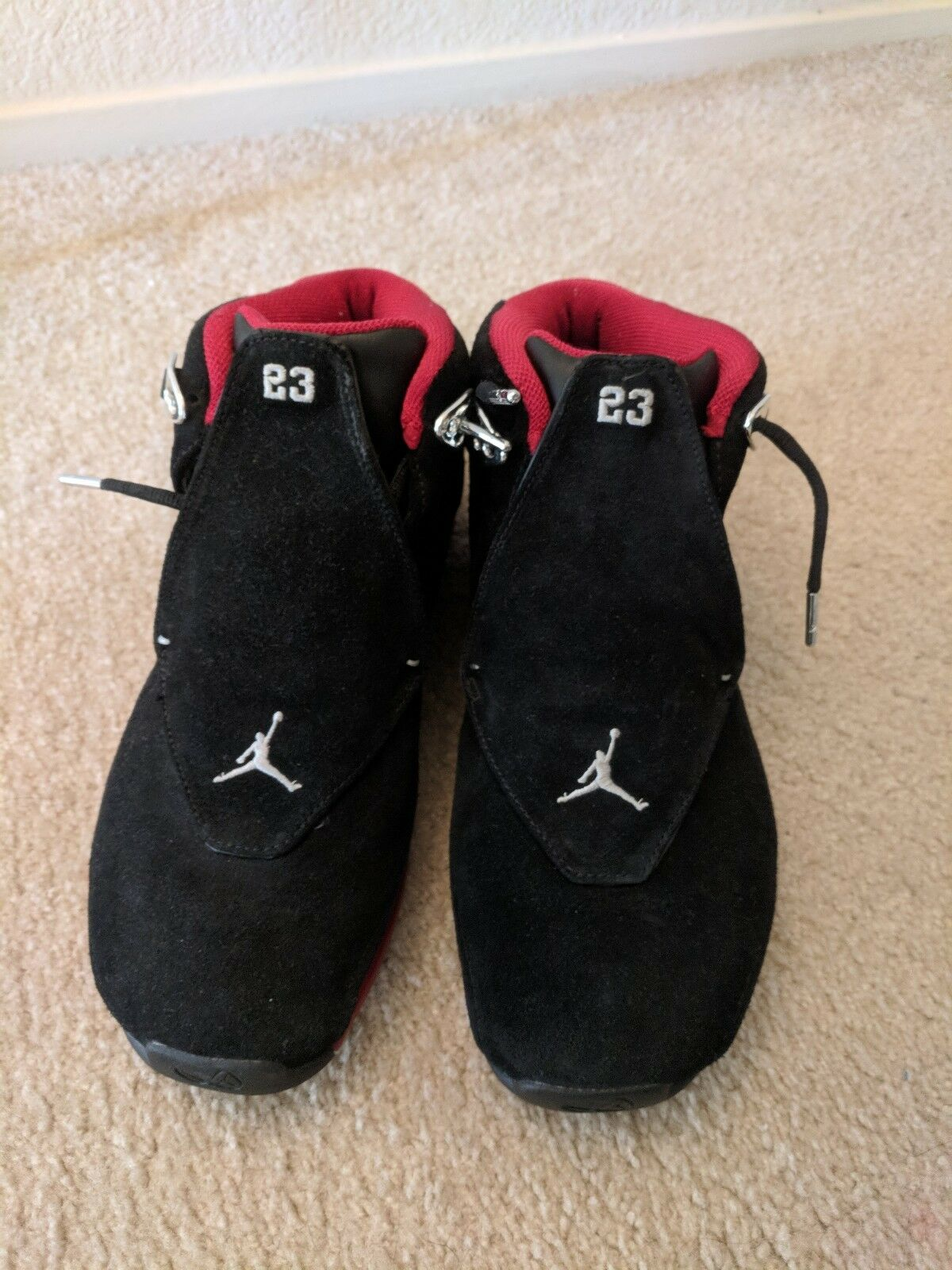 Men's/Women's Air Jordan 18 BRED pre-owned 10.5 10.5 10.5 Easy to use luxurious Brand feast 13a20b