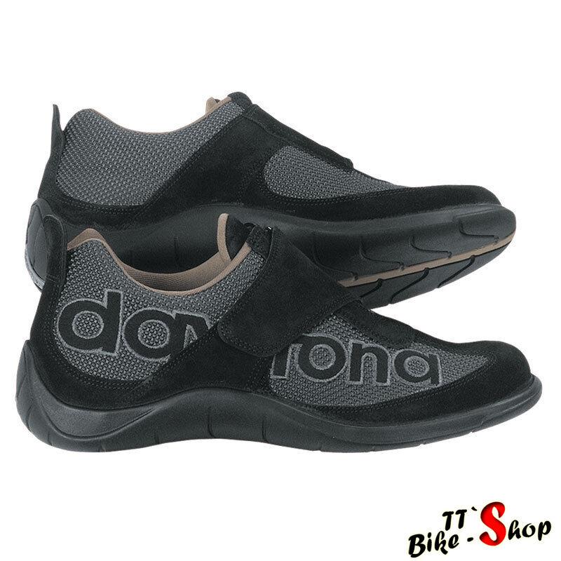 Daytona  Moto Fun  Schuhe in Schwarz-Grau, Größe 45, schuhe, schuhe