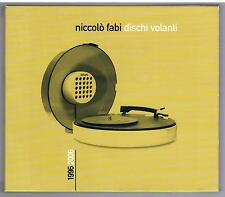 NICCOLO' FABI DISCHI VOLANTI CD  BOX 2CD + DVD F.C.