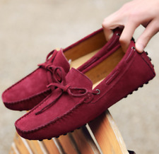 432e58820bc item 1 Mens Suede Loafers Driving Moccasins Casual Soft Penny Shoes  Comfortable Flats -Mens Suede Loafers Driving Moccasins Casual Soft Penny  Shoes ...