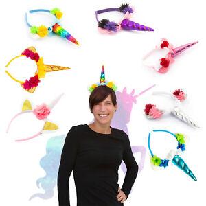 Einhorn Haarreifen Unicorn Haarreif Fasching Karneval Jga Model
