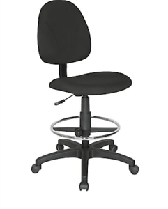 Image Is Loading NEW Open Box Height Adjustable Armless Drafting Stool