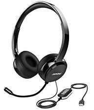 Mpow 071 USB 3.5mm Computer Headset With Microphone Noise Cancelling