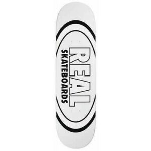 Planche Real Skateboards Team Oval Classic White Deck 8.38