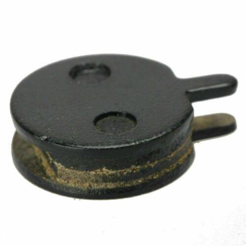Pair of JAK Zoom 22.5mm Semi Metal Resin Push Bike Bicycle Disc Brake Pads