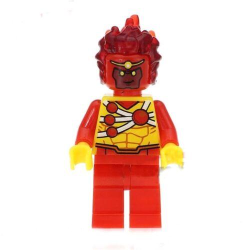 Firestorm minifigure action movie DC Comic Nuclear man toy figure
