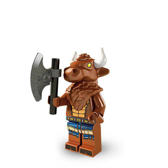 Lego 8827 Series 6 Minifigures No 8 Minotaur New in Opened Package