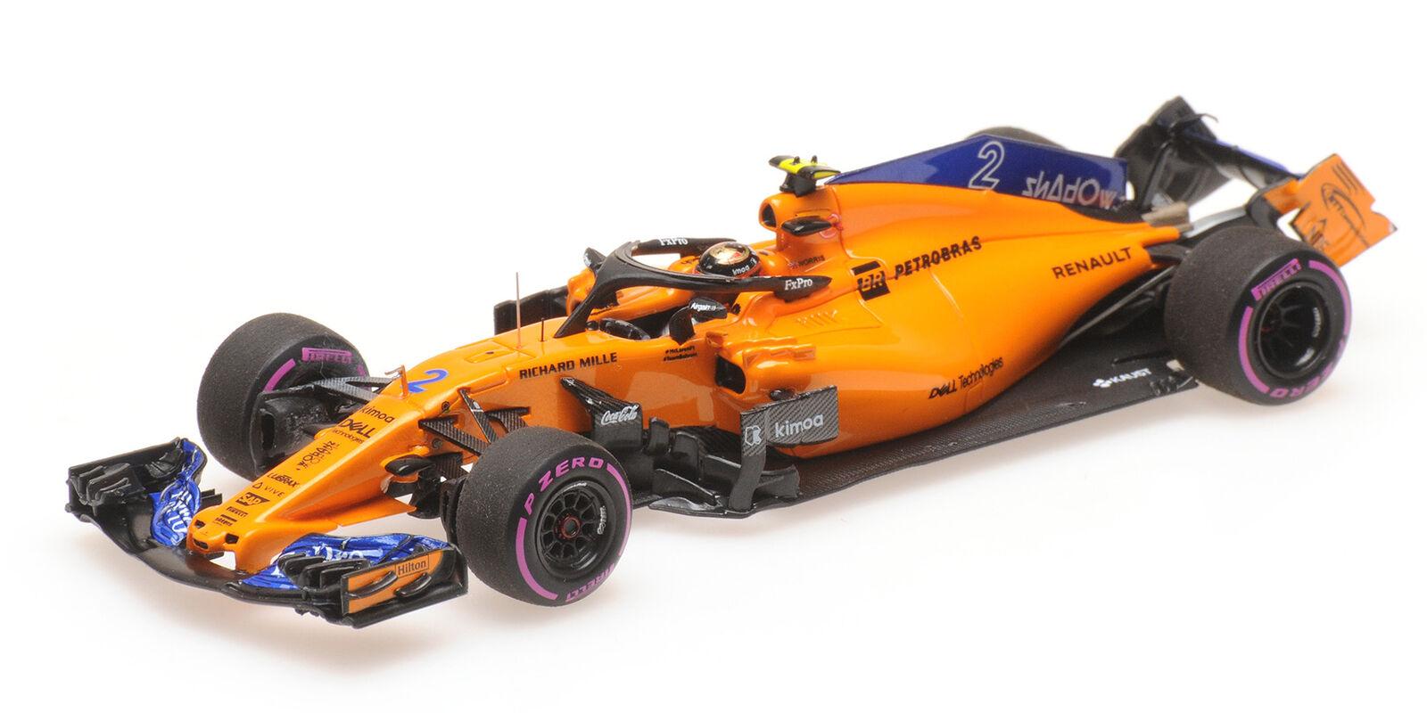 Mclaren Mcl33 Vandoorne Last F1 Race Abu Dhabi Gp  2018 MINICHAMPS 1 43 537186402  vendre comme des petits pains