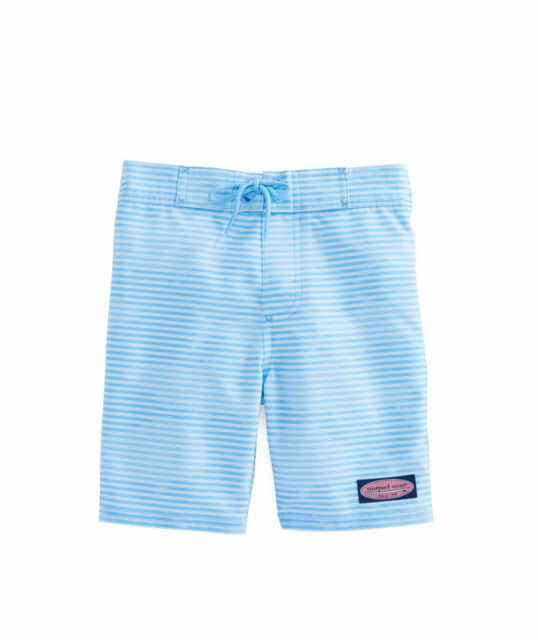 e76d6a62cb NWT NEW VINEYARD VINES MEN OCEAN BLUE SLAM STRIPED BOARD TRUNK SHORTS SZ 40