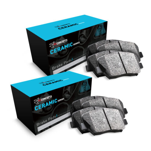 For 2014-2015 Kia Soul Front and Rear R1 Ceramic Series Brake Pads