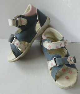 neuartiger Stil Original wählen beste Seite Details zu CupCake ° hübsche Sandalen Gr. 21 blau-rosa Mädchen Schuhe  Mädchensandalen