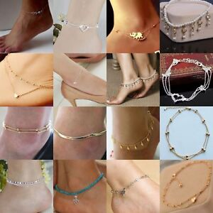 Fashion-Sexy-Ankle-Bracelet-Women-Anklet-Adjustable-Chain-Foot-Beach-Jewelry