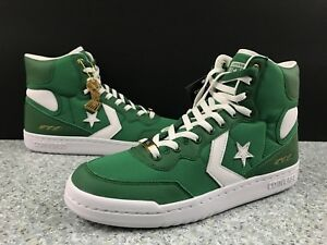 8e42c19c494a Converse Fastbreak Hi Green White Celtics NBA CT16 161327C Sz 8 No ...