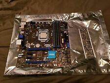 Intel Core i5-4570s / MSI B85M-G43 / 16gb DDR3
