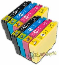 2 Sets Compatible T1285 Ink (8 Cartridges) Epson Stylus S22 (Non-oem)