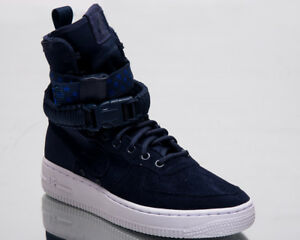 d0799b9ff57e Nike SF Air Force 1 Women Lifestyle Shoes Midnight Navy Sneakers ...