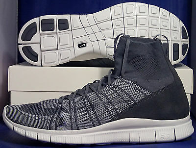 check out 4b0ed a8114 Nike Free Flyknit Mercurial SP HTM Superfly Dark Grey White SZ 13 (  667978-009 ) | eBay