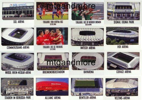 STICKER scegliere a TOPPS lega federale Kick Off Sticker 2014//2015
