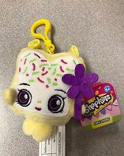 "Brand New 4"" Shopkins Plush Hanger Keychain Backpack Clip US Seller Fairy Crumbs"