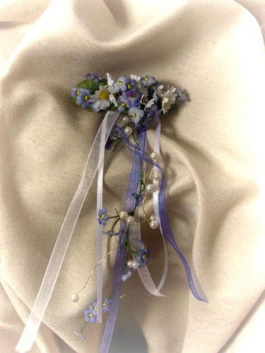 Haarschmuck Haarspange Blumenspange Patenthaarspange
