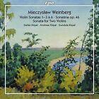 Mieczyslaw Weinberg: Violin Sonatas 1-3 & 6; Sonatina Op. 46; Sonata for Two Violins (CD, Oct-2016, 2 Discs, CPO)