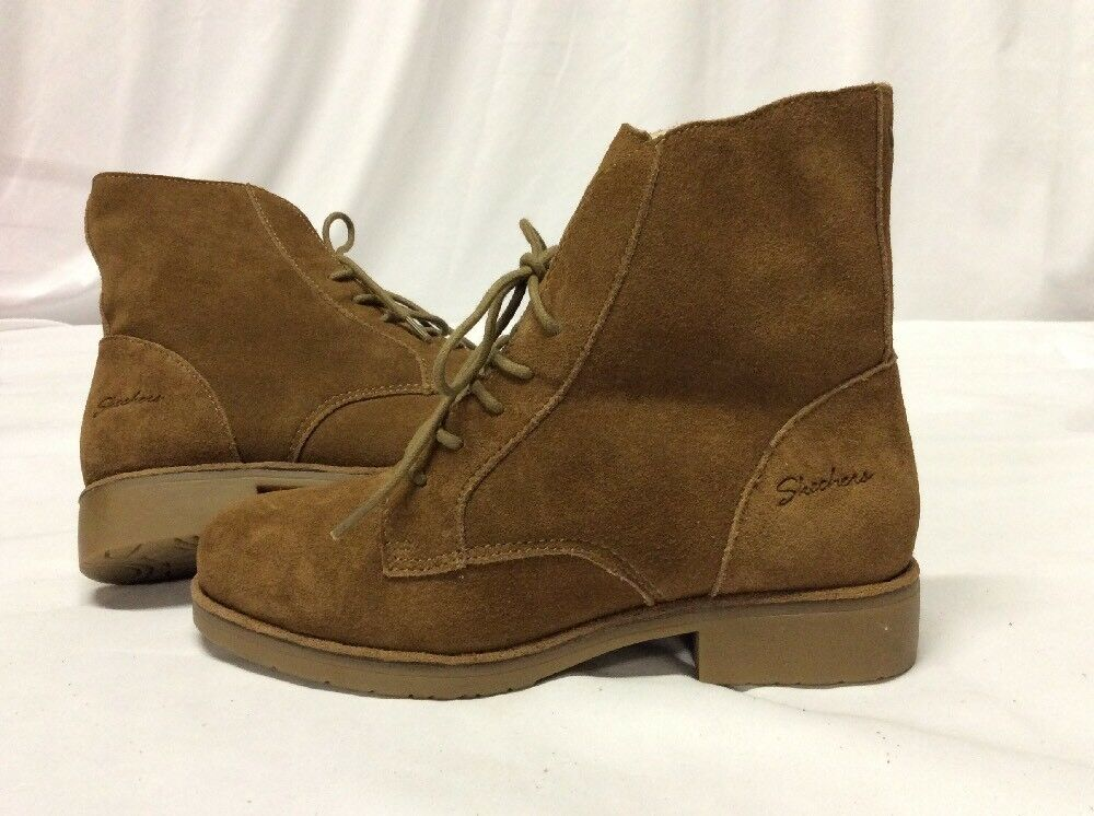 SKECHERS Winter Braun Damens's Stiefel, Braun Winter Suede Größe 6 797885