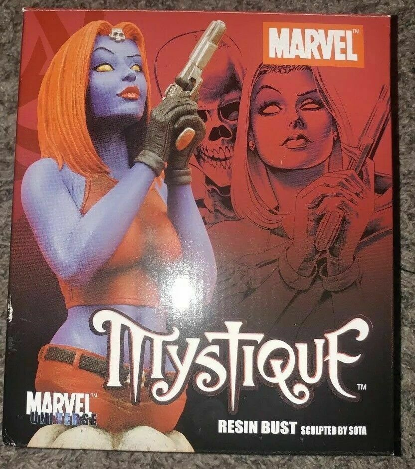 Marvel Bowen X-Men Mystique -  autoautobust with scatola  ecco l'ultimo